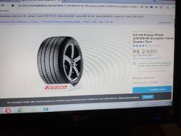 Vendo 04 Pneus Pirelli (vêm na Duster e Toro)Usado