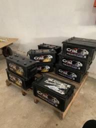 Bateria Cral 180ah 3 meses de garantia