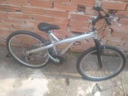 Bicleta de aluminio