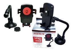 Suporte Veicular Universal Para Celular Gps Feitun Ff0060