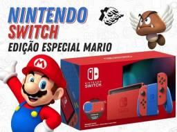 Nintendo Switch Edição Especial Mario Bros - V2 | Lacrado com 6 meses de garantia