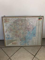 Título do anúncio: Quadro mapa do estado RS
