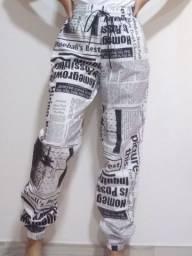 calça feminina jogger branca