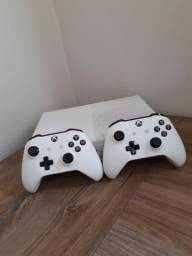 Xbox ONE s 1 tera 2 controles originais