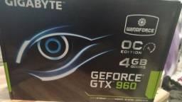 Vendo placa vídeo GTX 960 4gigas