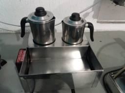 esterelizador de cafe e leite, maquina de cafe eletrica industrial e estufa para salgados
