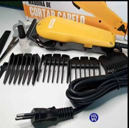 Maquina de cortar cabelo KNUP QR-8918 R$140,00(Entrega Grátis)