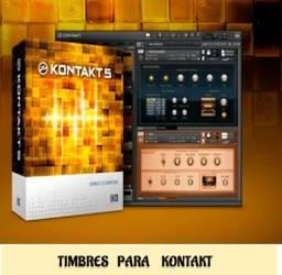 Timbres para Kontakt ( Nord + Pads + Sanfonas entre outros)