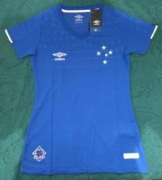 Camisa Cruzeiro 18/19 Feminina