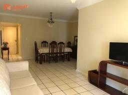 Apartamento com 3 dormitórios para alugar, 148 m² por R$ 2.530,00/mês - Centro - Balneário