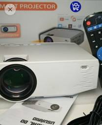 Projetor Smart Com TV box