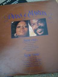 Disco vinil Diana Ross e Marvin Gaye
