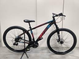 Bicicleta Aro 29 Quadro Alumínio e Freio a Disco