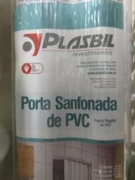 Porta de PVC sanfonada cor branca - consulte nossos preços