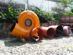 Conjunto de turbina para Geração de Energia