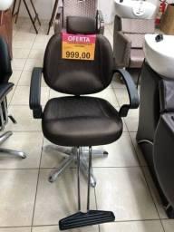 Título do anúncio: Cadeira para salão PROMOÇÃO