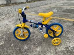 Bicicleta infantil baby shark
