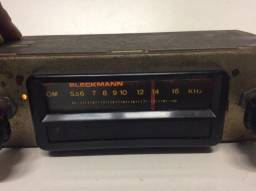 Antigo rádio carro bleckmann