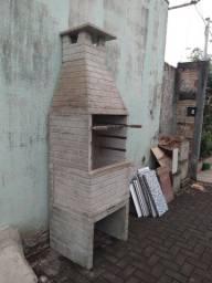 Churrasqueira de concreto