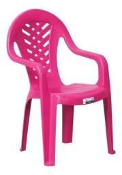 Cadeirinha infantil rosa - nova