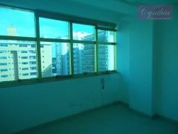 Título do anúncio: Gonzaga / Santos - Conjunto comercial com 3 salas