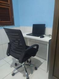 Mesa escrivaninha em mdf branco