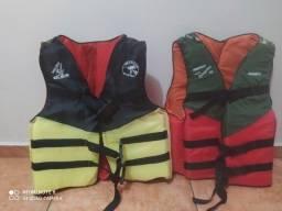 Colete salva vidas Nautilus 90kl e 70kl
