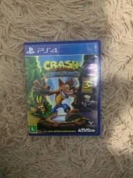Crash bandicoot N Sane Trilogy (3 jogos) PS4