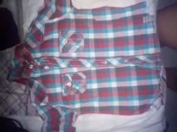 Lote de roupas de criança menino 5 a 10 anos