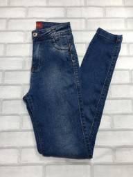 Calça jeans mesclada tamanho 36