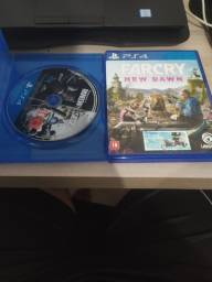 Jogos PS4 FarCry New Dawn e rainbow six