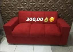 Mega promoção 1 sofá 3 lugares de 300 por apenas 270,00 avista