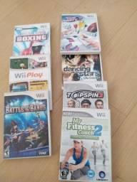 Lote de jogos mídia física originais para Nintendo Wii