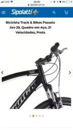 Bicicleta aro 29! Valor pago pelo produto 900$ (contém nota fiscal) 1 ano de uso
