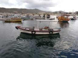 Barco para pesca e transporte de passageiros - Estudo proposta - 2000