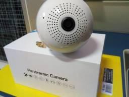 Lâmpada Câmera Led Wifi Ip Hd Panorâmica 360º