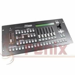 Mesa controladora DMX 512 c/ case