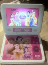 Dvd Portátil Princesas Tectoy Kids dvt-p3110