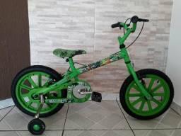 Bicicleta caloi aro 16 / ben 10 / oportunidade