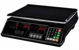 Balança Digital 40Kg Bivolt c/ Bateria Alta Precisão - NOVA