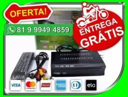 E,n,t,r,e,go. G,r,a,t,i,s pague em 12x Conversor Tv Digital Com Gravador