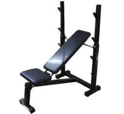 Banco Supino Reto, Inclinado E Declinado Para Musculação -Fitness Prado