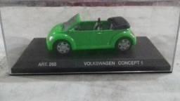 Carrinho colecionável Volkswagen Concept 1 New Beetle ACEITO OFERTAS !