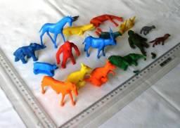 Lote Brinquedos Antigos - Animais De Plástico - Anos 80 90