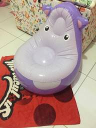 Poltrona hipopótamo infantil$25