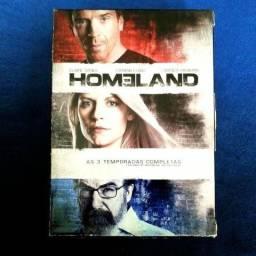 Box 12 DVD 's Homeland As 3 temporadas completas