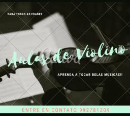 Aulas do violino