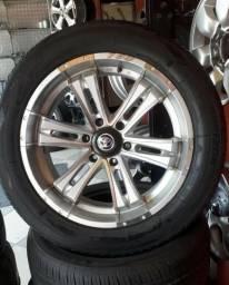 Rodas aro 20 Hillux com pneus 265 /50 /20