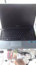 Notebook Samsung com I5 e 4gb ram