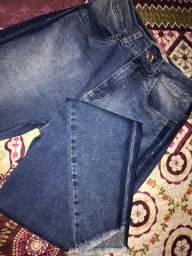 Calça jeans indulto